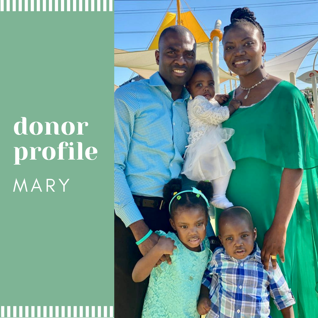 Wonderfully Blessed - Mary's Donor Story