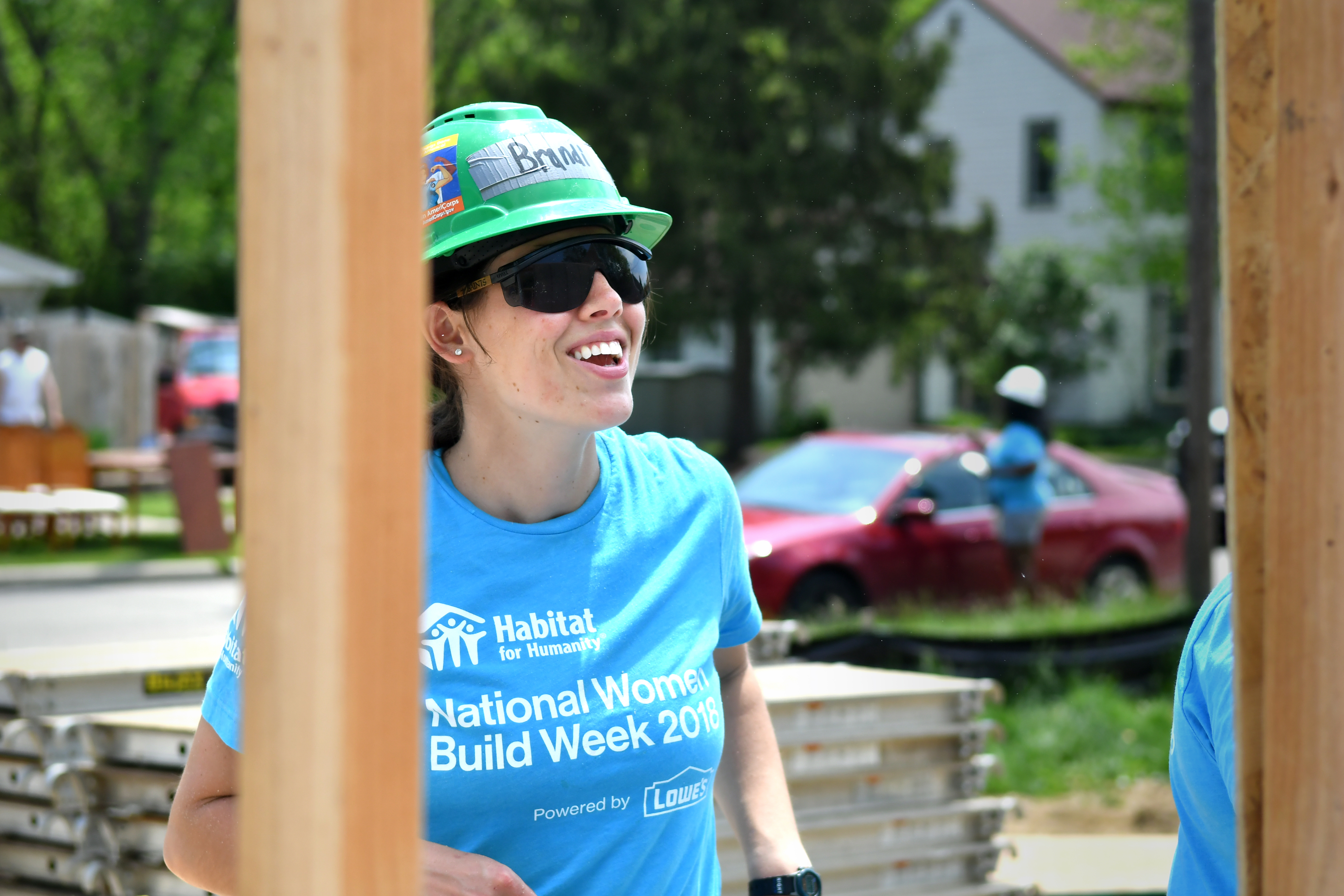 HFHGC partners with Lowe's for National Women Build Week