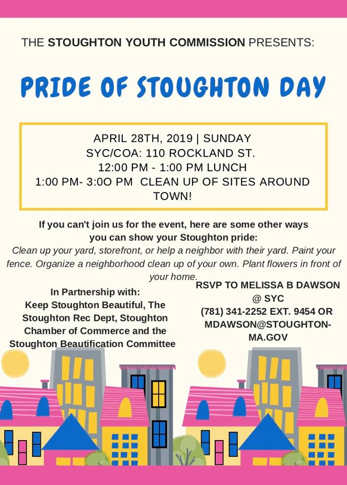 Pride of Stoughton Cleanup