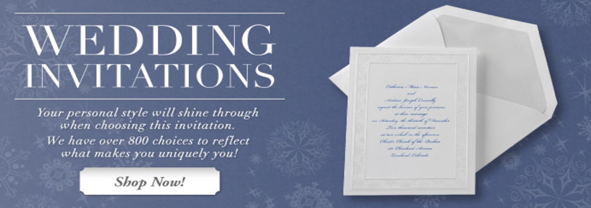 Royal Printing Wedding Invitations Bridal