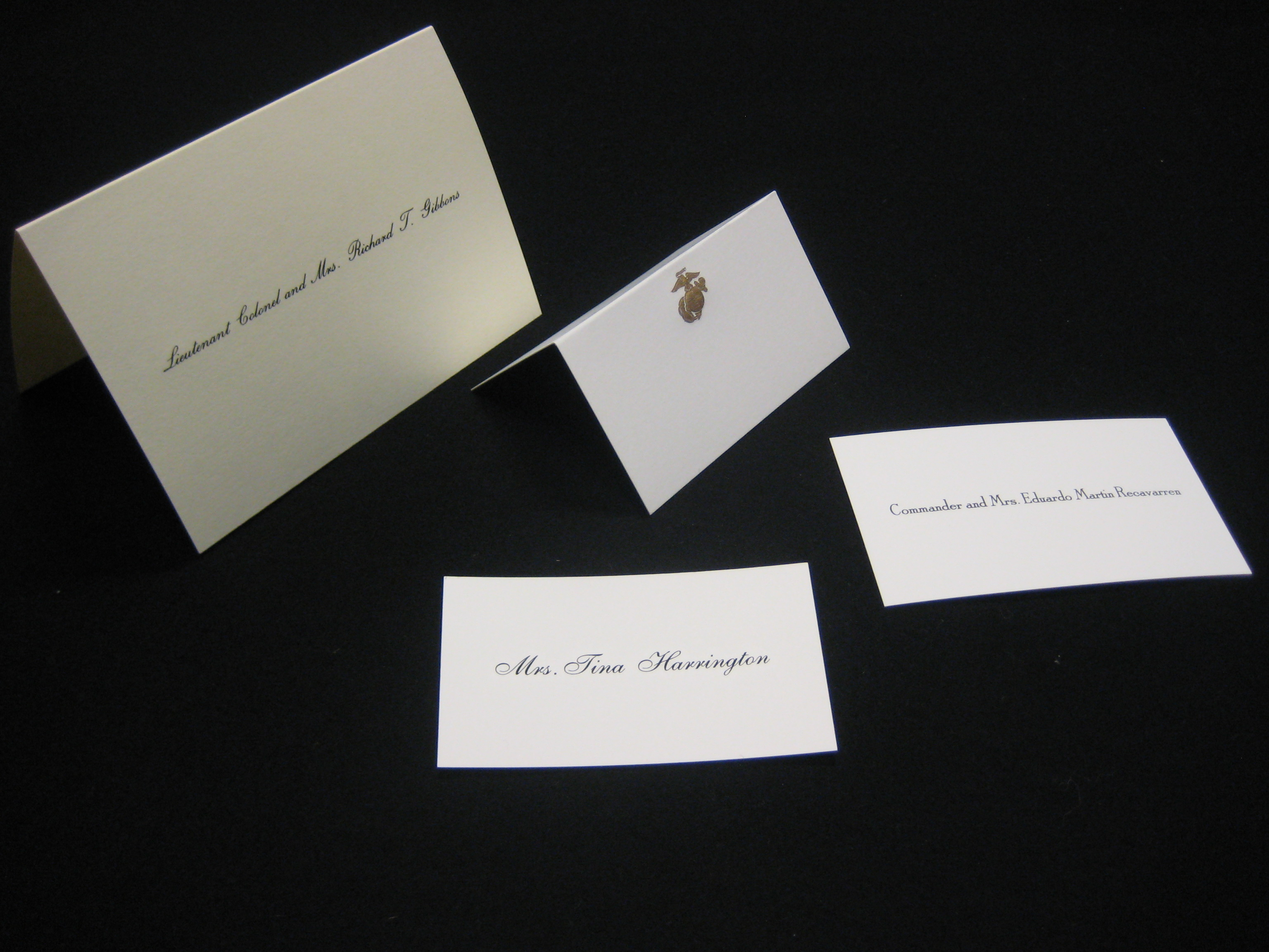 Fold Over Informals, Social Cards & Place Cards