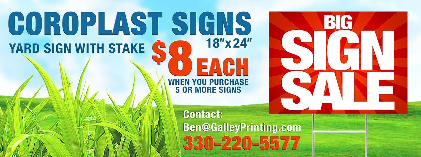Sign Sale 8.00