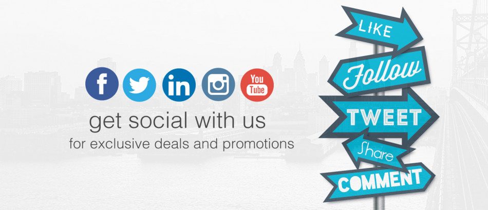 Review us on Social Media