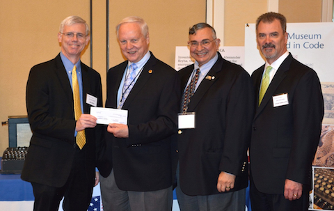 DRS Signals-Solutions donation to NCMF
