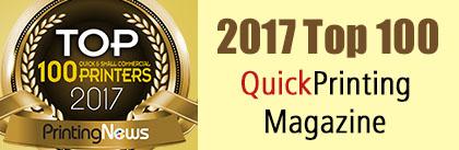 2016 Top 100 QuickPrinting Magazine
