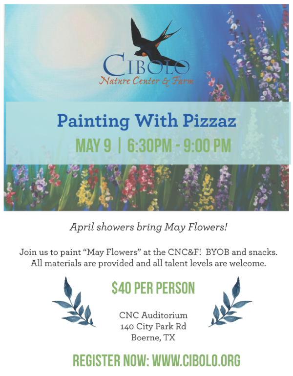 "CNC:  Painting with Pizazz ""May Flowers"""