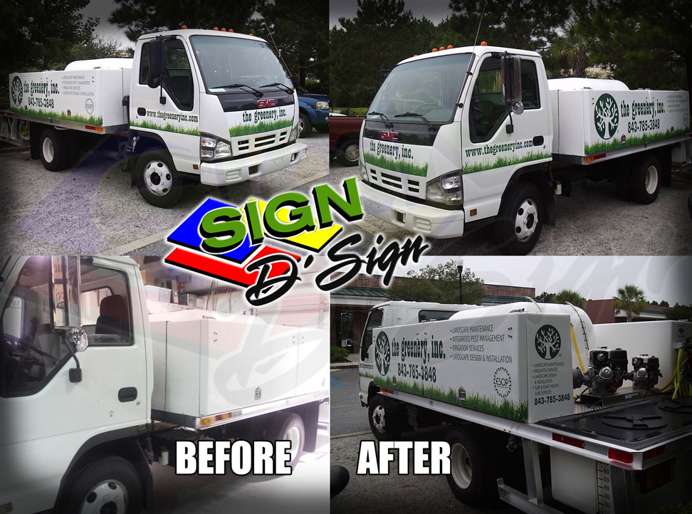 Greenery Truck