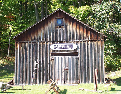 Carpenter/Cooper Shop