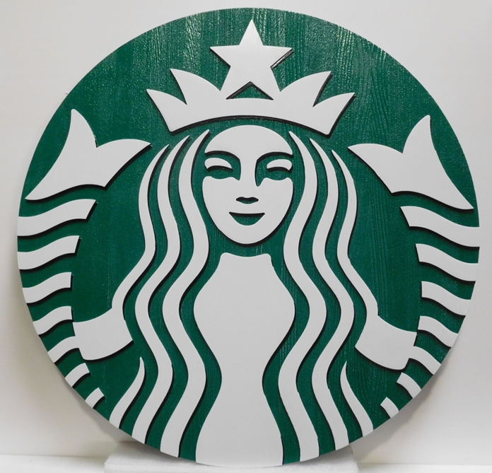 CD9150 - Starbucks Logo Plaque