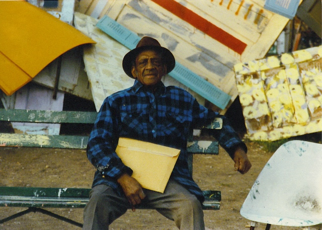 Grandpa Sam Mackey, 1990