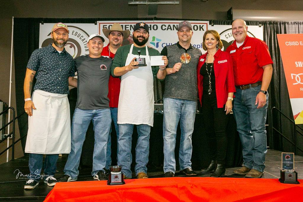 "BEST ENTREE: Omar Espitia, Josh Symank & Rocco Grande, A&M Consolidated MS & Oakwood Intermediate, ""Holik Street Tacos """
