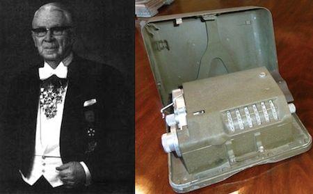 1983: Inventor Boris Hagelin Died.