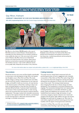 Case Study: Community Engagement in Flood Early Warning and Risk Reduction in Quy Nhon