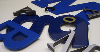 Dimensional Letters - Exterior Signage