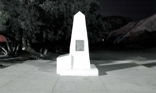 "Border Monument No. 1, from ""Monuments: 276 Views of the United States - Mexico Border,"""