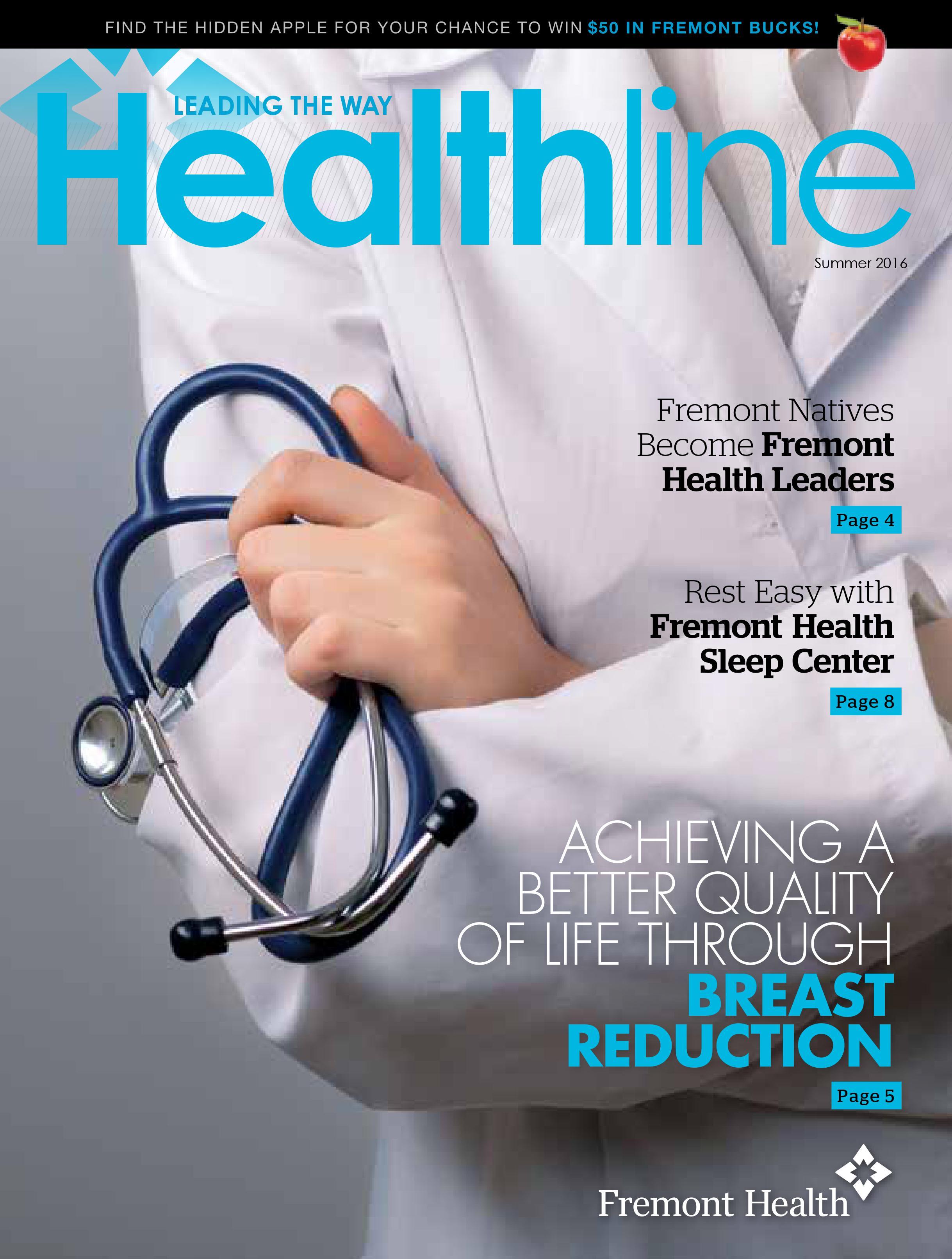 Healthline Summer 2016