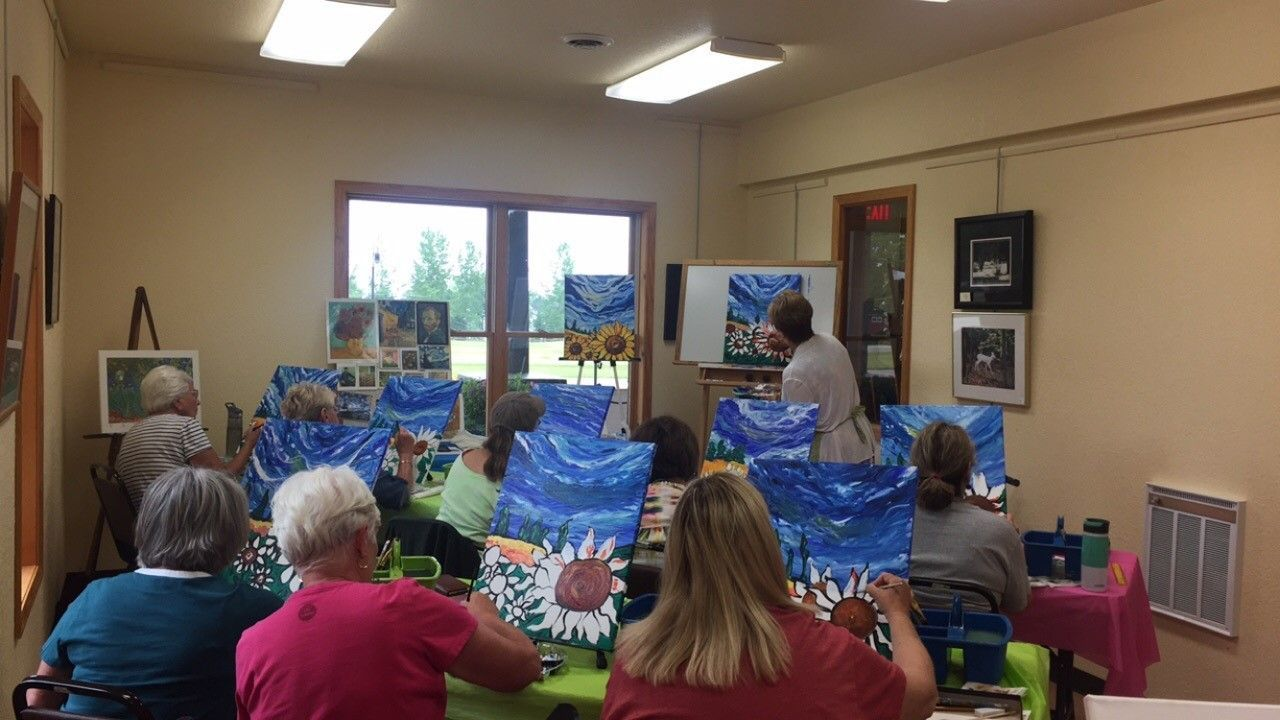 Adult Art Appreciation Class with Linda Anderson-Paine