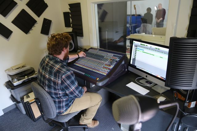 FEATURED STORY // THE SUFFOLK TIMES: New East End Arts recording studio available to local musicians, students >>