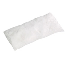"A01IA104 White Oil Only Polypropylene Pillow 18"" x 8"""