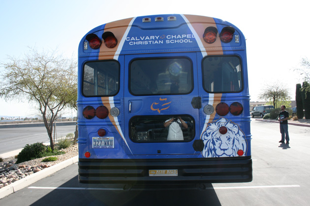 Calvary Chapel Bus