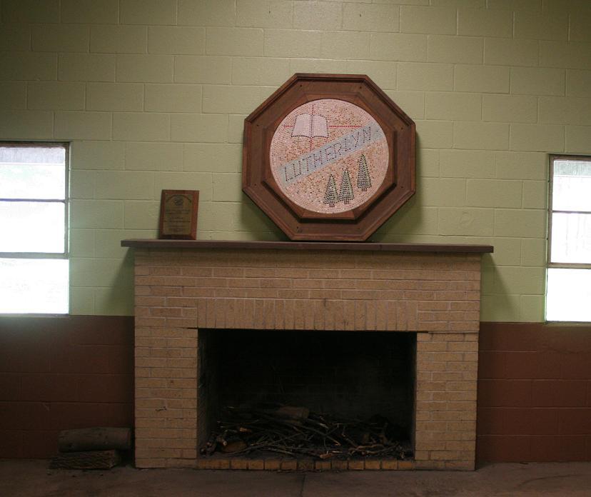 Rec Building Fireplace