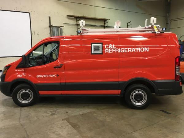 Fleet vehicle graphics Orange County cA
