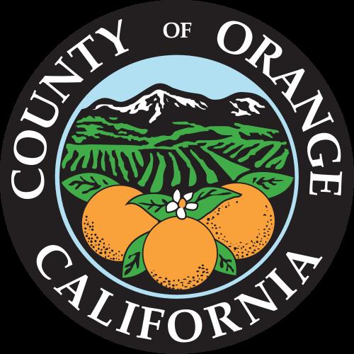 X33368 -  Seal of Orange County,  California