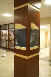 Wayfinding Directory Sign