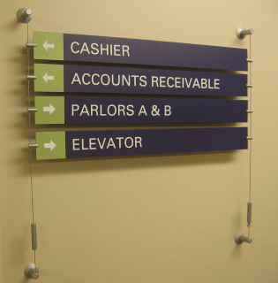 Government Wayfinding Signs
