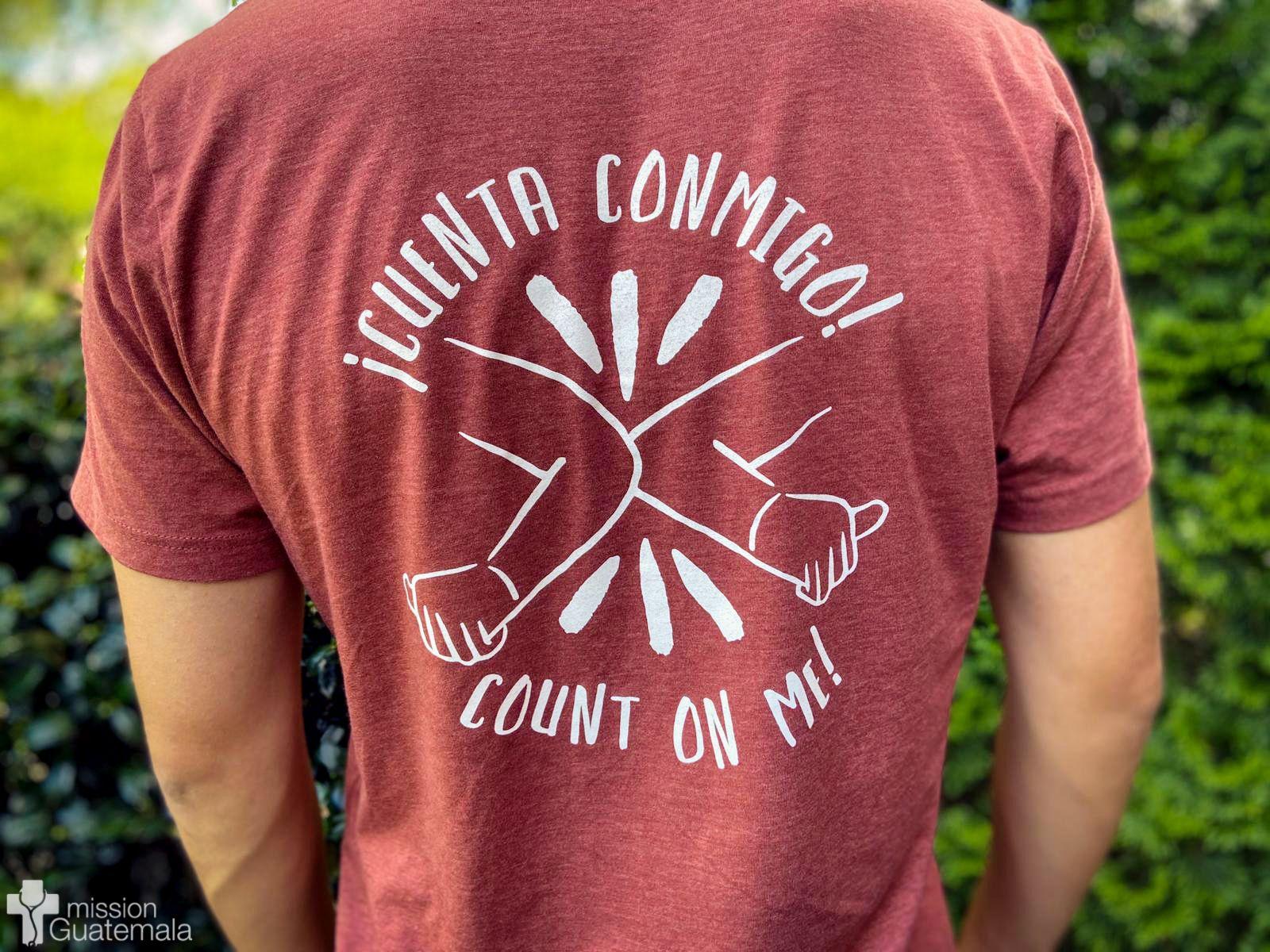 ¡Cuenta Conmigo! Shirts Still Available