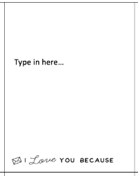 52 Reasons Why Downloadable word template