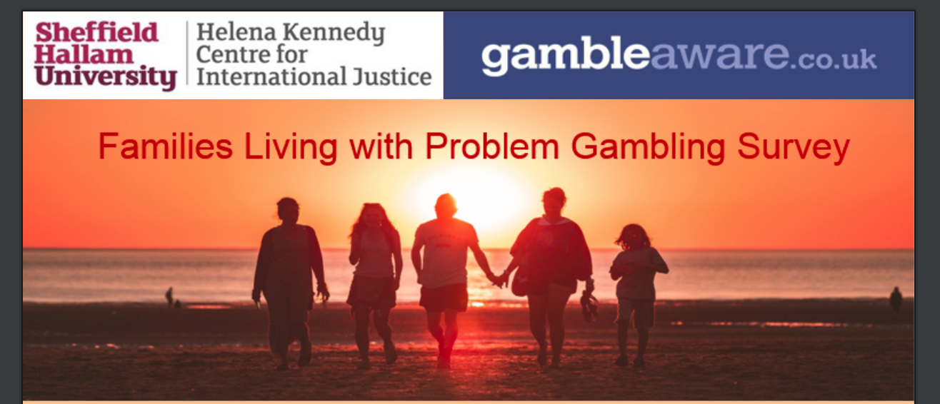 Families Living with Problem Gambling Survey