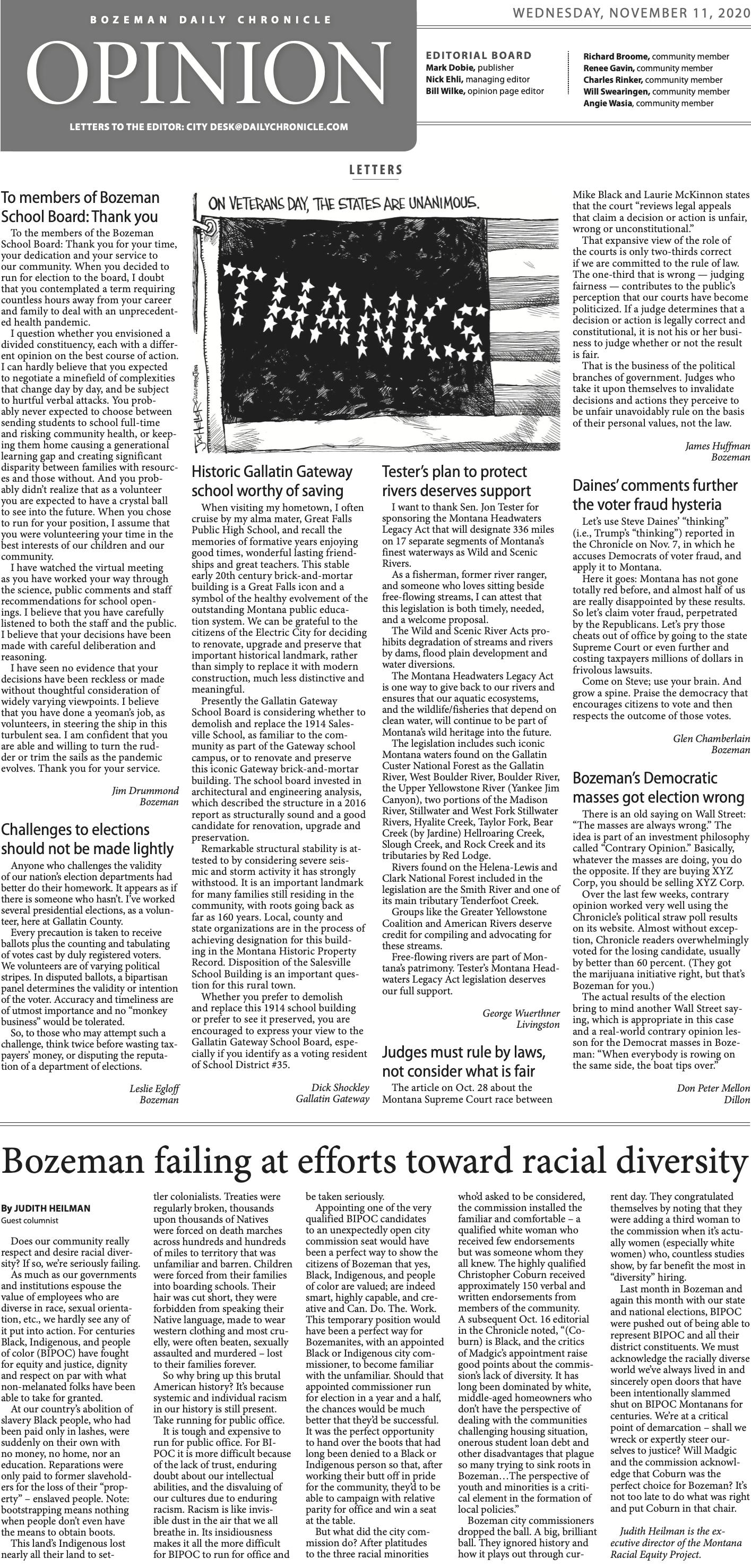 Bozeman failing at efforts toward racial diversity