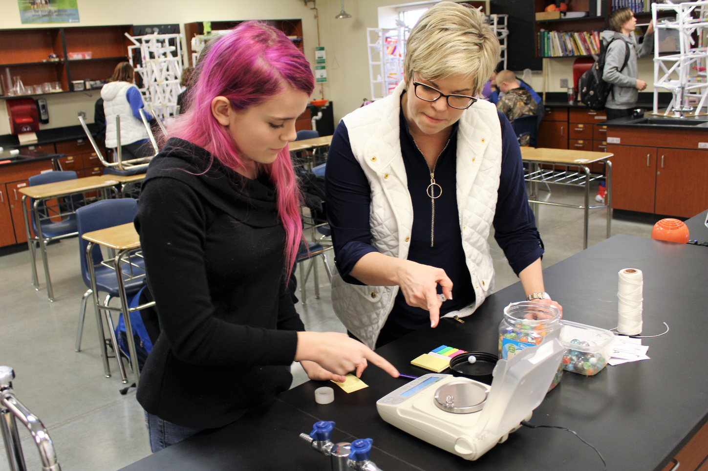 EHS Classroom Grant: Electronic Scales