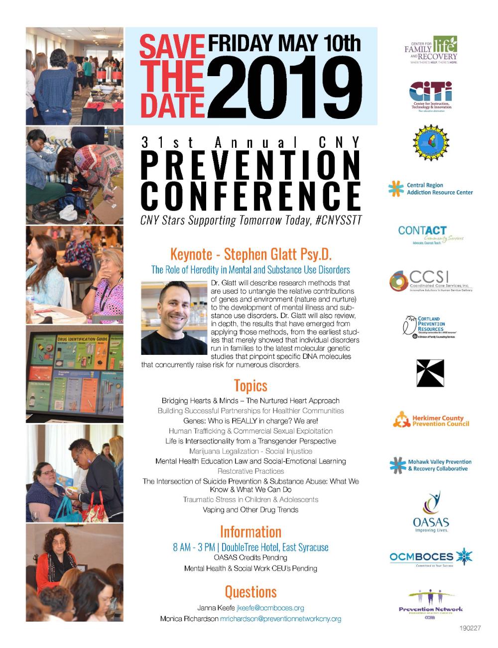 Annual CNY Prevention Conference