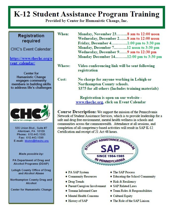 6 Half-Day SAP Training