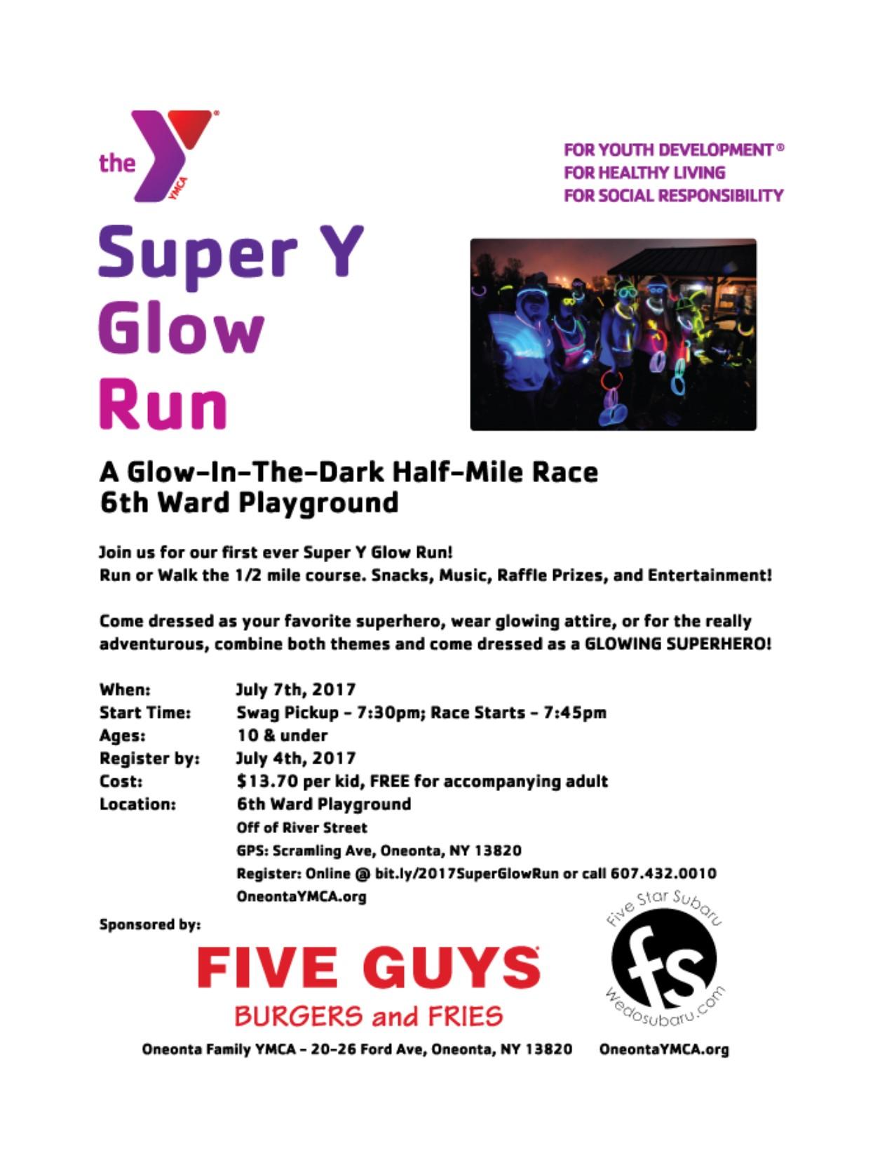 Super Y Glow Run