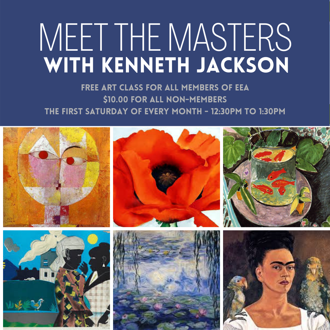 Meet the Masters FREE Art Class