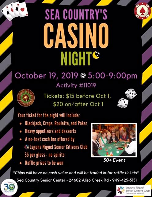 Sea Country Casino Night