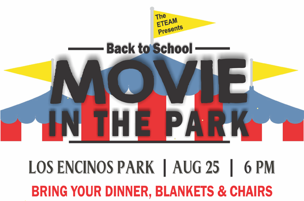 BACK TO SCHOOL MOVIE NIGHT!