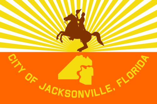 X33085 - Flag of Jacksonville, Florida