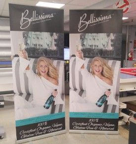 Pull up Banners w/ Stand