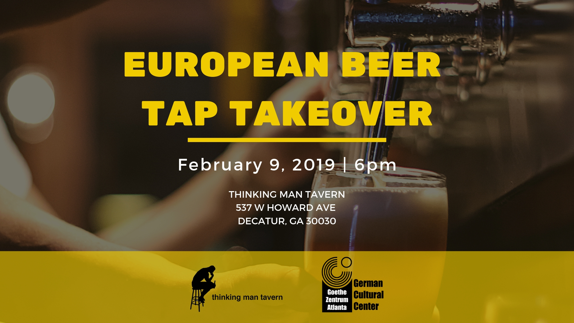 European Beer Tap Takeover