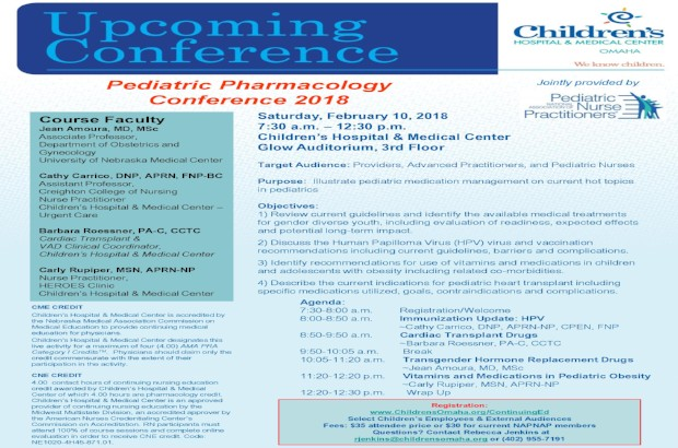 NAPNAP Pharmacology Conference