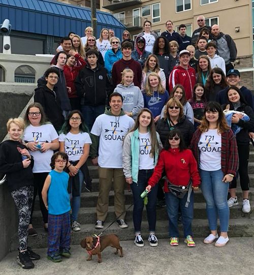 Students create Seaside Walk for Awareness for Down Syndrome benefiting NWDSA