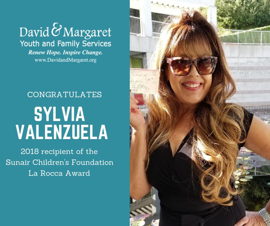 Sylvia Valenzuela: La Rocca Award Recipient