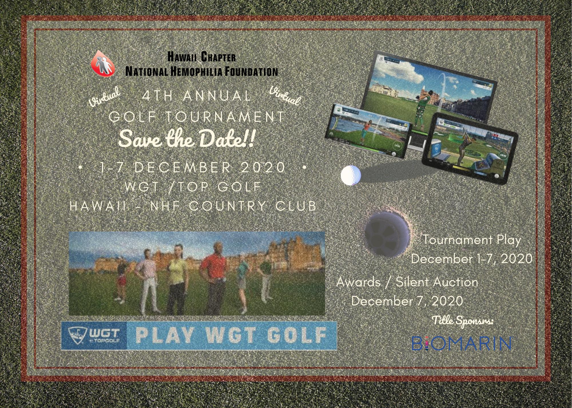 4th Annual Hawaii Golf Tournament
