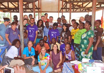 Participate in the Annual Village Health Outreach