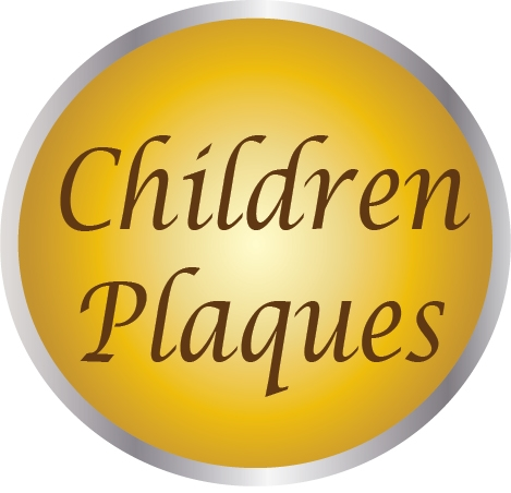 YP-2000 - Carved  Plaques for the Home Featuring Children