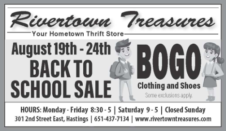 RTT Weekly Sale for August 19 - 24